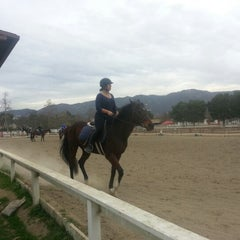 Photo taken at Los Angeles Equestrian Center by Harrison P. on 2/2/2013