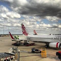 Photo taken at Virgin Australia Lounge by Stewy_Melbourne on 4/26/2013