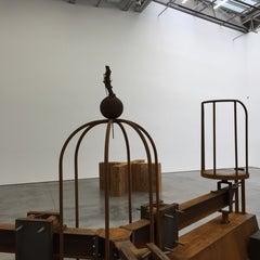 Photo taken at Gladstone Gallery by Raj G. on 9/20/2014
