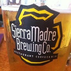 Photo taken at Sierra Madre Brewing Co. Pub by Eduardo M. on 4/20/2013