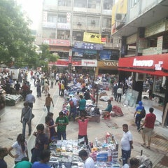 Photo taken at Nehru Place by Eyebrows G. on 8/16/2014