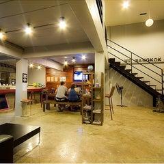 Photo taken at WE Bangkok Hostel by Justine L. on 9/9/2013