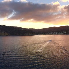 Photo taken at Avalon Harbor by aniko k. on 11/13/2014