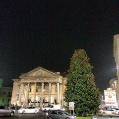 Photo taken at Teatro Sociale di Mantova by Simon L. on 11/30/2013
