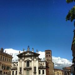 Photo taken at Piazza Sordello by Simon L. on 5/19/2013