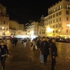 Photo taken at Campo de' Fiori by Erasmo P. on 11/8/2012