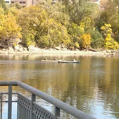 Photo taken at West River Parkway by Alan on 9/30/2012