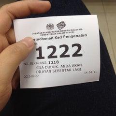 Photo taken at Jabatan Pendaftaran Negara Selangor by Filza S. on 7/2/2015