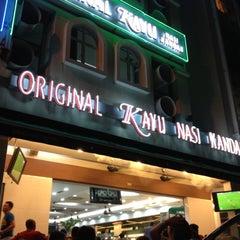 Photo taken at Original Kayu Nasi Kandar Restaurant by Muhamad Salleh on 11/13/2012