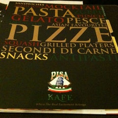 Photo taken at Pisa Kafe by OeTje on 3/15/2013