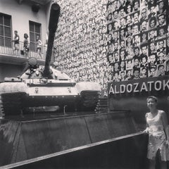 Photo taken at Terror Háza | House of Terror Museum by Márk M. on 7/26/2013