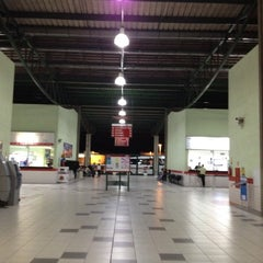 Photo taken at Terminal Rodoviário Internacional de Itajaí (TERRI) by Bruno O. on 10/14/2012