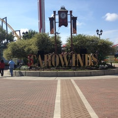 Photo taken at Carowinds by Little M. on 10/15/2012