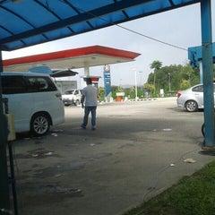 Photo taken at CarWash Caltex Subang by Ain S. on 12/19/2015