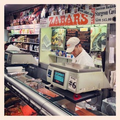 Photo taken at Zabar's by Steve T. on 10/30/2012