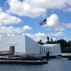 Photo taken at USS Arizona Memorial by Jamie S. on 10/27/2012