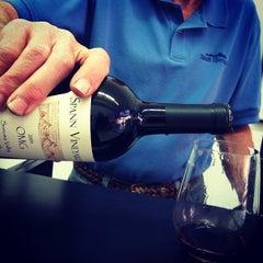 Photo taken at Spann Vineyards by john k. on 9/21/2012