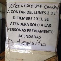 Photo taken at Dirección de Tránsito San Bernardo by Jaime A. on 12/1/2014
