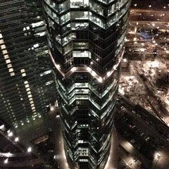 Снимок сделан в Башня «Федерация» / Federation Tower пользователем Dear S. 11/13/2012