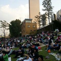 Photo taken at 여의도 한강공원 (Yeouido Hangang Park) by DC N. on 10/6/2012