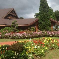 Photo taken at พระตำหนักดอยตุง (Doi Tung Royal Villa) by Kungvk on 9/16/2013