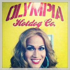 Photo taken at Olympia Hot Dog Company by ALEKSA M. on 9/15/2013