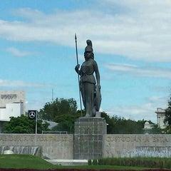 Photo taken at Glorieta Fuente La Minerva by Jose P. on 9/12/2013