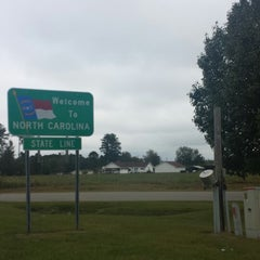 Photo taken at NC/SC State Line by Eddy C. on 10/13/2013