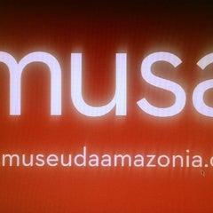 Photo taken at Museu da Amazônia (MUSA) by Cesar A. on 12/11/2013