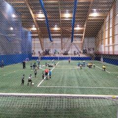 Photo taken at Centre sportif Bois-de-Boulogne by Mario C. on 11/15/2014