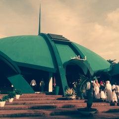 Photo taken at Masjid Jami' Al-Baitul Amien Jember by Anggie A. on 4/4/2014