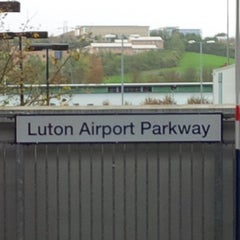 Photo taken at Luton Airport Parkway Railway Station (LTN) by Andrii K. on 10/27/2013