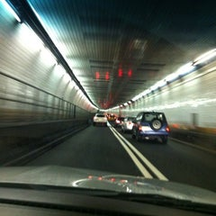Photo taken at Holland Tunnel by Samuel O. on 12/10/2012