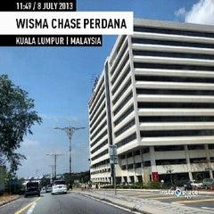 Photo taken at Wisma Chase Perdana by Ajim A. on 7/8/2013