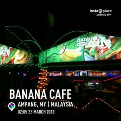 Photo taken at Banana Cafe by Ajim A. on 3/22/2013