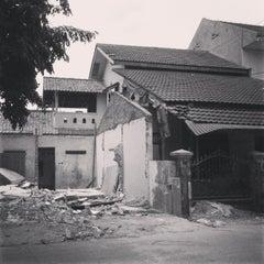 Photo taken at Jl. Semanan by wahyalam on 11/23/2013