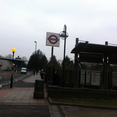 Photo taken at North Acton London Underground Station by Mick S. on 2/12/2013