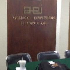 Photo taken at Asociacion De Empresarios De Iztapalapa by Nestor RiVass on 11/27/2013