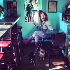 Photo taken at Puebla Mexican Food and Coffee Shop by Lindsey M. on 4/5/2014
