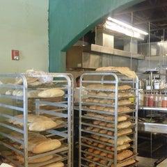 Photo taken at Martusciello Bakery by Christopher P. on 5/7/2015