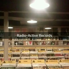 Photo taken at Radio Active Records by Christopher P. on 11/28/2013