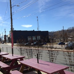 Photo taken at River Arts District by Andrea K. on 2/7/2015