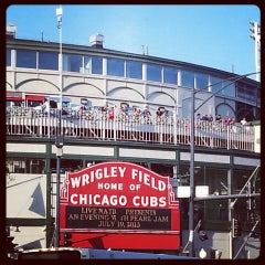 Photo taken at Wrigley Field by Wendy H. on 7/20/2013
