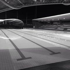 Photo taken at Sengkang Swimming Complex by Rick on 8/16/2014