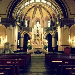 Photo taken at St. Aloysius Church by Kate K. on 5/25/2013