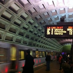 Photo taken at Foggy Bottom-GWU Metro Station by Vahid O. on 11/6/2012