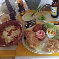 "Photo taken at Restaurante De Mariscos ""Loredos"" by Marysol S. on 6/29/2014"