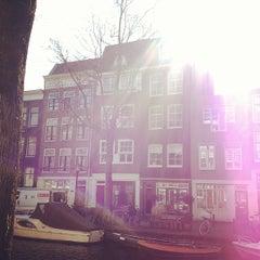 Photo taken at Amsterdam by Merve İ. on 3/26/2013