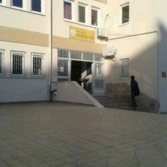 Photo taken at Antalya Gazi Anadolu Lisesi by Beste C. on 11/1/2013