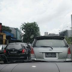 Photo taken at Jalan Sultan Iskandar Muda (Arteri Pondok Indah) by adrian a. on 2/7/2015